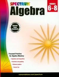 Spectrum Algebra(Grades6-8)
