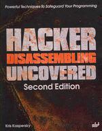 [해외]Hacker Disassembling Uncovered