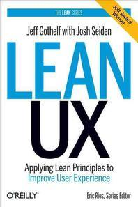 [해외]Lean UX (Hardcover)