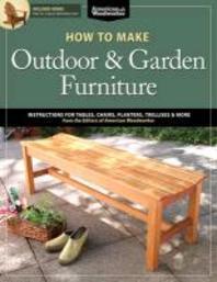 [해외]How to Make Outdoor & Garden Furniture