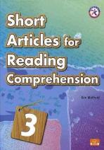 Short Articles for Reading 3(SB+CD)