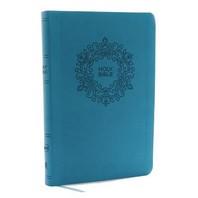 [해외]NKJV, Value Thinline Bible, Large Print, Imitation Leather, Blue, Red Letter Edition (Imitation Leather)