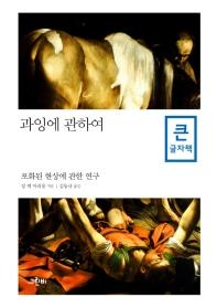 과잉에 관하여(큰글자책)(철학의 정원 34)