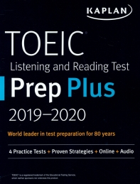 TOEIC Listening and Reading Test Prep Plus 2019-2020