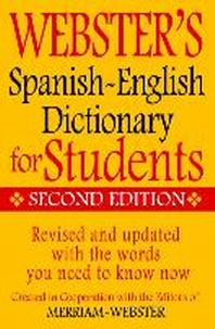 [해외]Webster's Spanish-English Dictionary for Students, Second Edition