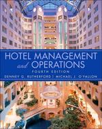 Hotel Management And Operations, 4/e