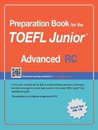 TOEFL Junior Test RC: Advanced
