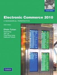 Electronic Commerce 2010 6/E: Global Edition (Paperback)()