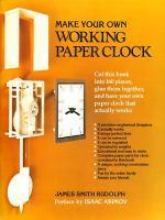 [해외]Make Your Own Working Paper Clock
