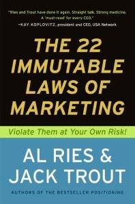 The 22 Immutable Laws of Marketin