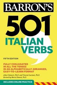 [해외]501 Italian Verbs