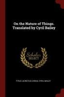 [해외]On the Nature of Things. Translated by Cyril Bailey (Paperback)