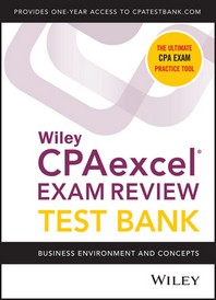 [해외]Wiley Cpaexcel Exam Review 2020 Test Bank (Paperback)