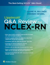 [해외]Lippincott Q&A Review for Nclex-RN
