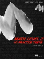 MATH LEVEL. 2: 10 PRACTICE TESTS