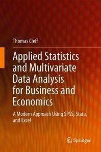 [해외]Applied Statistics and Multivariate Data Analysis for Business and Economics