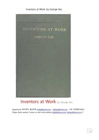 발명품을 만드는 발명가.Inventors at Work, by George Iles