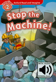 Read and Imagine 2: Stop the Machine (with MP3)