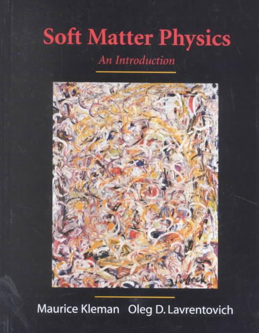 [해외]Soft Matter Physics