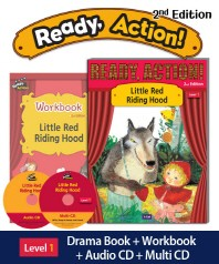 Ready Action. 1: Little Red Riding Hood(2판)(CD2장포함)(Ready Action Level 1)(전2권)