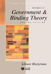 Introduction to Government and Binding Theory 2/E