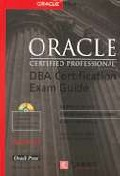 ORACLE DBA CERTIFICATION EXAM GUIDE(S/W포함)
