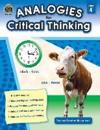 [해외]Analogies for Critical Thinking Grade 4
