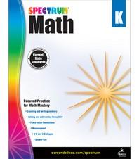 Spectrum Math Grade. K