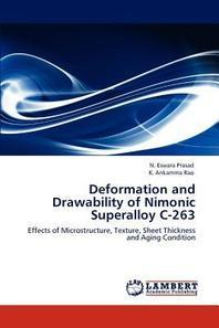 Deformation and Drawability of Nimonic Superalloy C-263