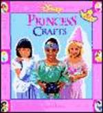Disney Princess Crafts 앞속지에 스티커 붙였다 떼어낸 자국 있음