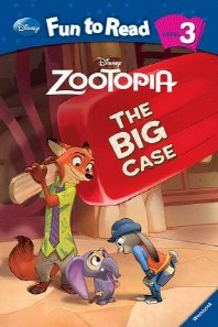 Zootopia : The Big Cas(CD1장포함)(Disney Fun to Read 3-21)