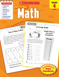 Scholastic Success with Math Grade. 4(Work Book)