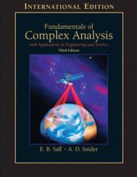 Fundamentals of Complex Analysis S/C