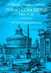 [해외]Piano Concertos Nos. 11-16 in Full Score