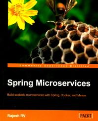 [해외]Spring Microservices (Paperback)