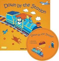 [해외]Down by the Station [With CD] (Paperback)