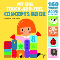 [해외]My Big Touch-And-Feel Concepts Book