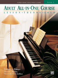 Alfred's Basic Adult All-In-One Course, Bk 3(Alfred's Basic Adult Piano Course #BK 3)
