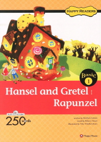 Hansel and Gretel Rapunzel(CD1장포함)(Happy Readers Basic 1)