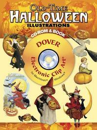 Old-Time Halloween Illustrations [With CDROM]