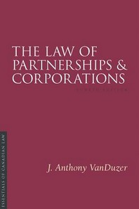 The Law of Partnerships and Corporations, 4/E
