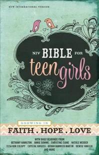 Bible for Teen Girls-NIV