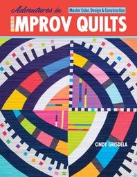 [해외]Adventures in Improv Quilts
