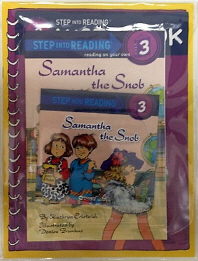 Samantha the Snob(CD1장포함)(Step into Reading Step 3)(전2권)