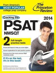 Cracking the PSAT/NMSQT with 2 Practice Tests(2014)