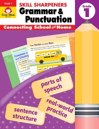 Skill Sharpeners Grammar and Punctuation, Grade 1