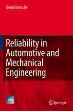 [해외]Reliability in Automotive and Mechanical Engineering (Hardcover)