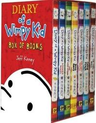 Diary of a Wimpy Kid Box of Books 1-7