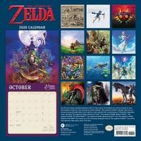 [해외]Legend of Zelda 2020 Wall Calendar