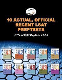10 Actual, Official Recent LSAT Preptests